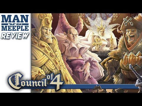 Council of 4 Review by Man vs Meeple