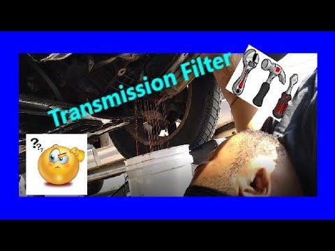 Transmission Filter Replace | Vlog