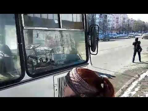 Во Владимире загорелся автобус с журналистами и сотрудниками МЧС