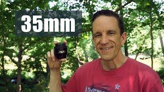 Great Lens (35mm) - Field Test and Review (demo w/ Nikon D3400)