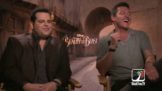 Josh Gad And Luke Evans Takes On Homosexuality In Beauty And The Beast