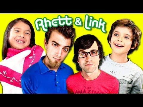 Kids React To Rhett and Link!