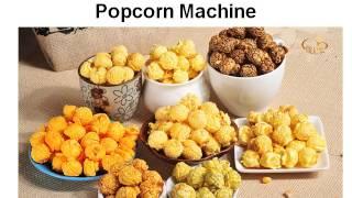 American Originals Flavor Popcorn Machine
