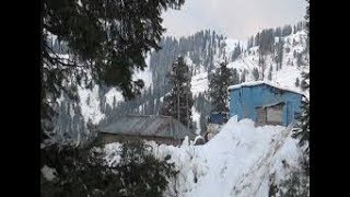 preview picture of video 'Snow fall in abbottabad | 12 February 2018 |'