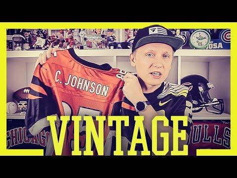 Vintage NFL TRIKOTS von Reebok - Wo kaufen und worauf achten?