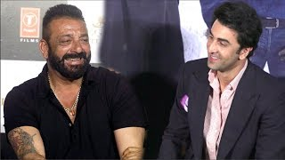 Ranbir Kapoor & Sanjay Dutt FUNNY Moments - Sanju Movie Teaser   Sanjay Dutt Biopic
