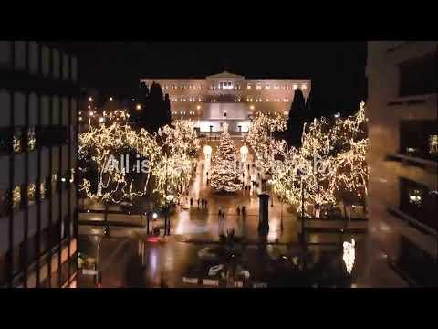 Μήνυμα «ειρήνης και φωτός» μεταφέρει η Χριστουγεννιάτικη Αθήνα σε όλον τον κόσμο | 25/12 | ΕΡΤ