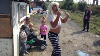 Blonda cu barbă Concita din Baia Mare:))