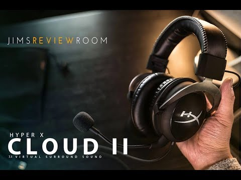 Hyper X Cloud II 7.1 Surround Sound Gaming Headset – REVIEW