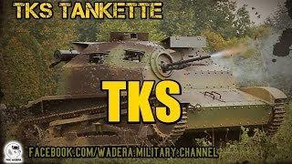 preview picture of video 'TKS Tankietka (Tankette) Polish light tank 1934-1936 HQ'