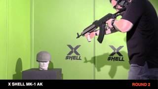 X Shell MK1 AK Helmet The Worlds Only True AK47 Protective Helmet