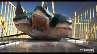 720pHD 3 Headed Shark Attack VFX By Steve Clarke & Paul Knott