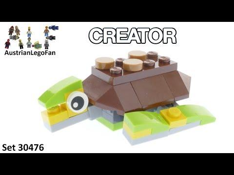 Vidéo LEGO Creator 30476 : Tortue (Polybag)