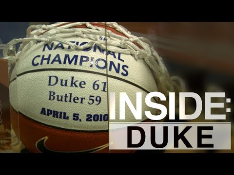 Inside: Duke | Josh Hairston Gives Tour of Basketball Facilities
