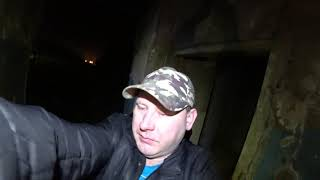 Заброшенный дом!Последние видео))Чуть не поймали!!!!Жарим мясо,хочу пожрать!!#идиотшоузаброшка
