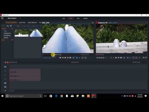 Lightworks Split Screen Effect Tutorial