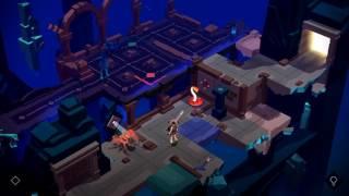 "Lara Croft GO Walkthrough The Mirror of Spirits Level 11 ""The Void"""