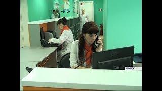 В Ачинске отремонтировали одну из двух детских поликлиник города
