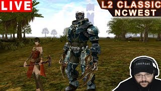 Lineage II Classic NA - Orc Monk & Human Cleric Gameplay (Talking Island Server) PT-BR