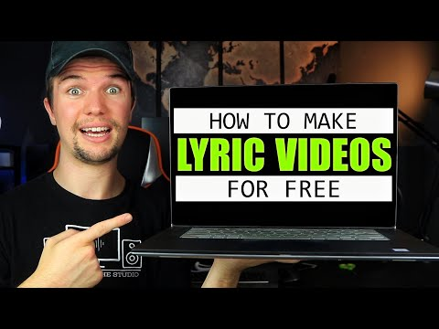 How to Make a LYRIC VIDEO (For Beginners)   Make Your Own FREE Lyric Videos! (VideoPad Edition)
