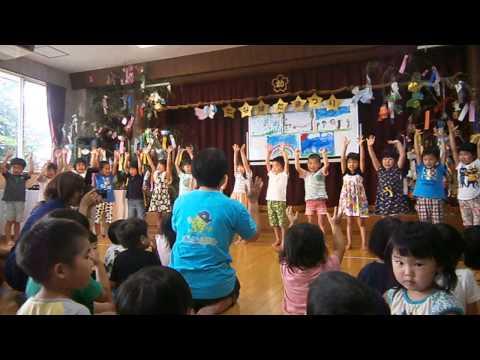 15 7 6 倉吉幼稚園 七夕まつり 7