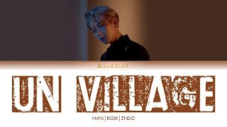 BAEKHYUN (백현) - UN Village (HAN/ROM/INDO Lyrics/가사)
