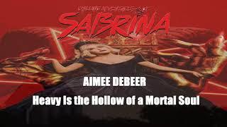 Kadr z teledysku Heavy is the Hollow of a Mortal Soul tekst piosenki Aimee deBeer