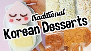 Kids Try Weird Traditional Korean Desserts And Sweets For The First Time!