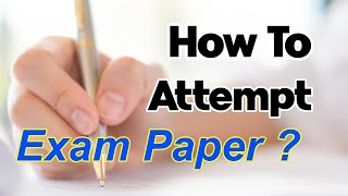 How to Attempt Exam Paper | Board Exam Tips 2020 | Letstute
