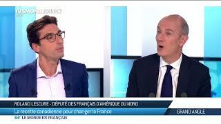 TV5 Monde - 64 minutes - La recette canadienne pour changer la France