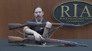 Soviet SVT-38 Self-Loading Rifle