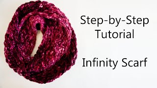 Beginners Guide to Knitting an Infinity Scarf | Step-by-Step Instructions | Knitting House Square