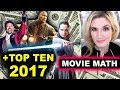 Jumanji tops The Last Jedi, Top Ten 2017 Box Office Movies