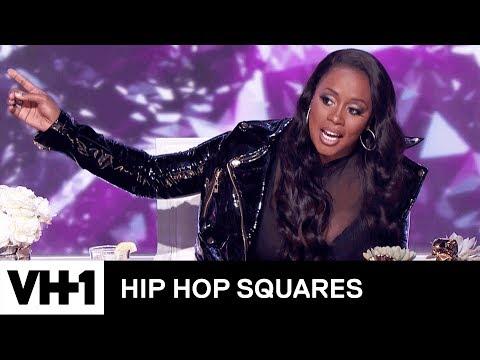 Remy Ma Judges Tiffany Haddish & Michael Rapaport's Rap Battle   Hip Hop Squares