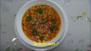 Supe me Makarona - Pasta Soup