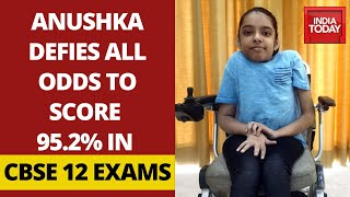 Meet Anushka Panda Who Topped Class 12 Exams In Differently Abled Category | Good News Today - Download this Video in MP3, M4A, WEBM, MP4, 3GP