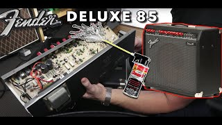 What's Inside A Fender Deluxe 85?   Opening Up Radiohead's Tone