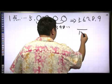 酒井のどすこい!センター数学IA #056 第9講 第2問