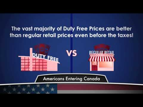 Duty Free Canada: American Customs Allowances EXTENDED VERSION