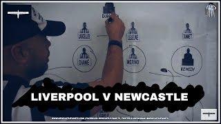 Tactics board | Liverpool v Newcastle United | Preview