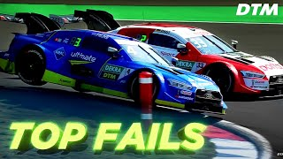 EPIC RACING FAILS  DTM Fail Compilation