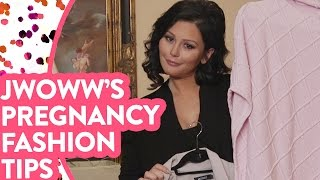 "JWOWW's ""Non"" Maternity Outfits"
