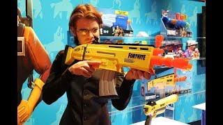 Review: NERF Fortnite AR Toy Fair 2019