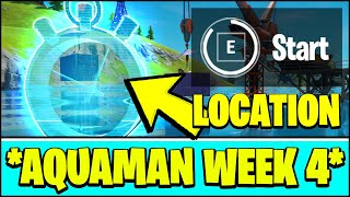COMPLETE THE SWIMMING TIME TRIAL AT DIRTY DOCKS LOCATION (Fortnite AQUAMAN Challenge Week 4)