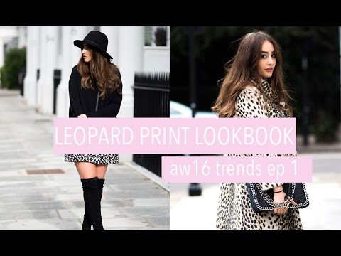 Download LEOPARD PRINT LOOKBOOK | AW16 TRENDS EP 1 | FASHION SLAVE | SOPHIE MILNER HD Mp4 3GP Video and MP3
