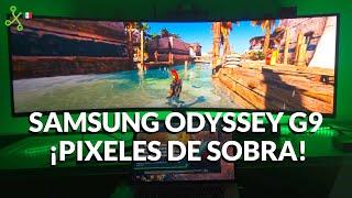 Samsung Odissey G9, El monitor gamer QLED de 49 pulgadas ideal para trabajar, diseñar o editar.