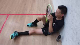 Mason Smales signs with Double Dot Squash