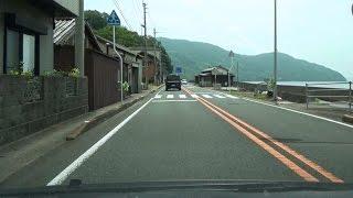 国道56号 上り その3 愛媛県大洲市→西予市→宇和島市