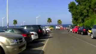 preview picture of video 'Protaras main street - Protaras Drive - Scooter ride - Cyprus Travel Guide - Ayia Napa'