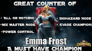 Emma Frost |A Must Have Champion| Marvel Contest Of Champions